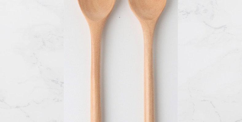 Sakura Accent Wooden Spoon (2pcs)