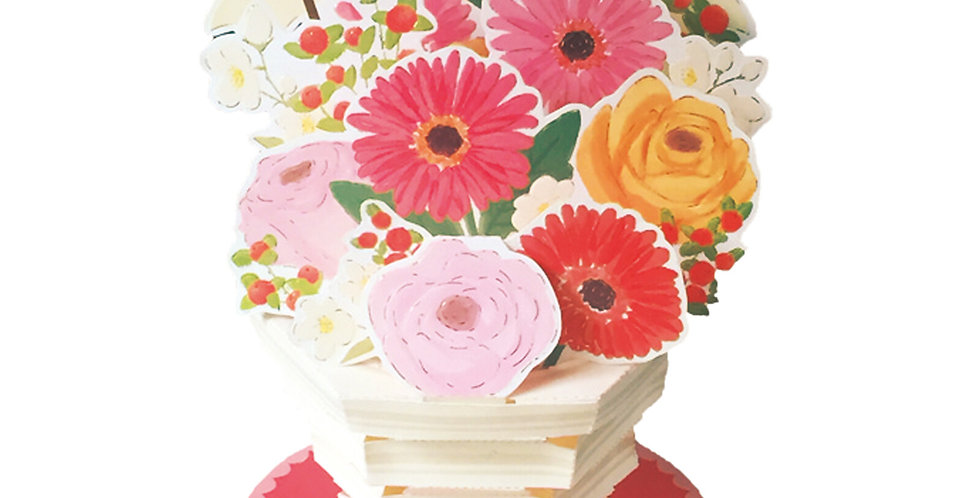 Flower Boutique Pot Pop-Up Card