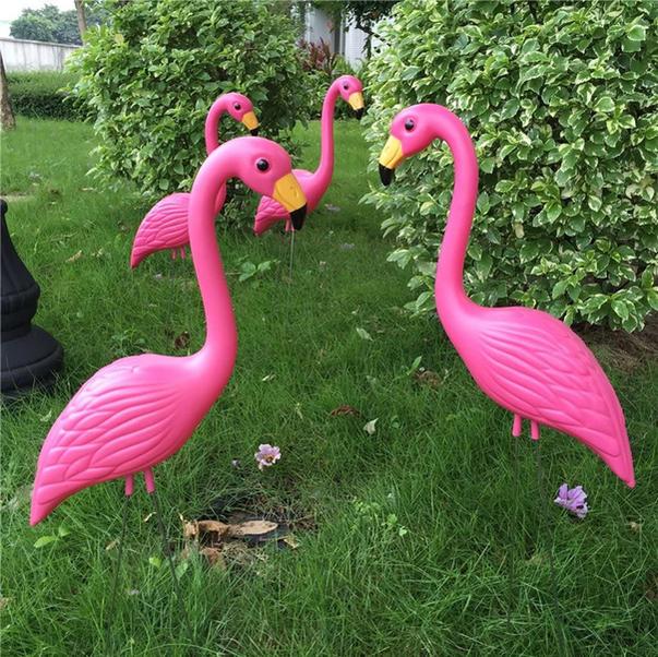 Birthday Flamingos