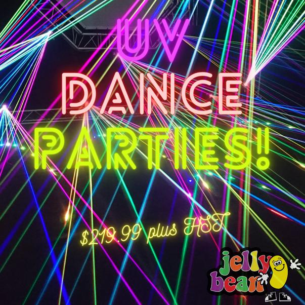UV Dance Parties