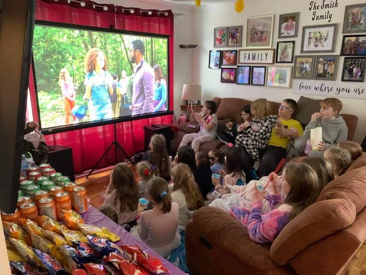 In-Home Movie Theatre