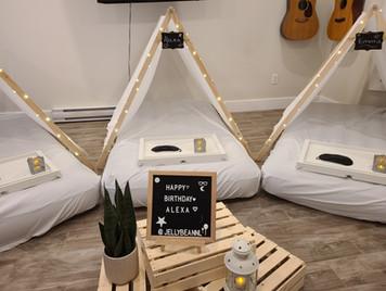 Sleepover Tents