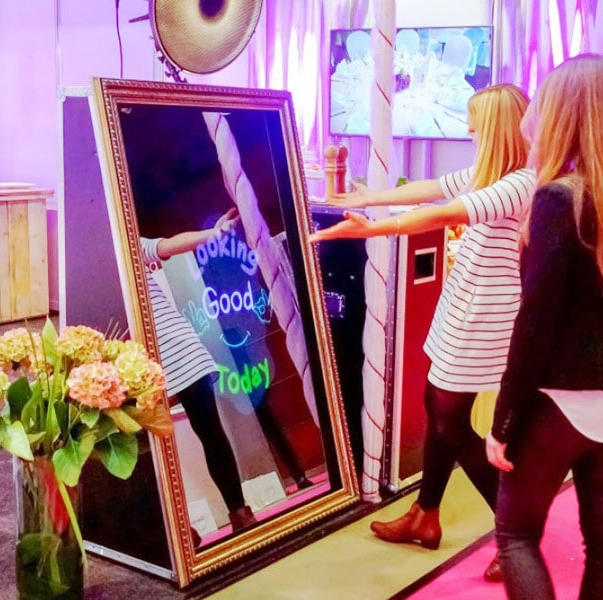 Mirror Me Touch-Screen Photobooth!