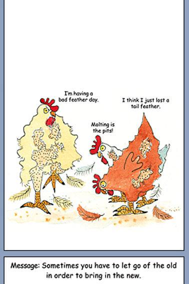 Chicken Encourage Molting