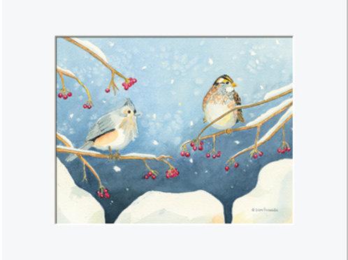 Winter Companions Print