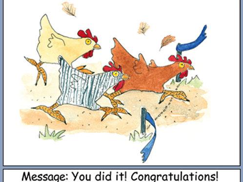 Chicken Congratulations