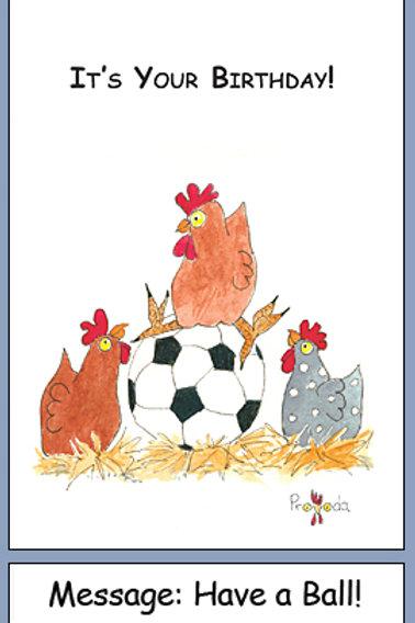 Chicken Birthday Ball