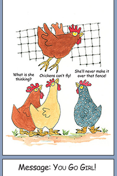Chicken Encouragement