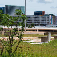 Praça Zumbi dos Palmares, Brasília. Foto: Virgínia Silva.