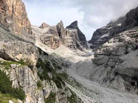 Top 20 Best hikes in Europe - Via Delle Bocchette Alte e Centrali, Dolomites, Italy