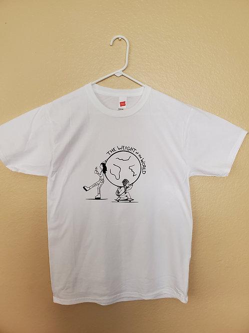 T-Shirt White Weight of the World