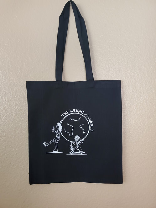 TOTE BAG: The Weight of the World