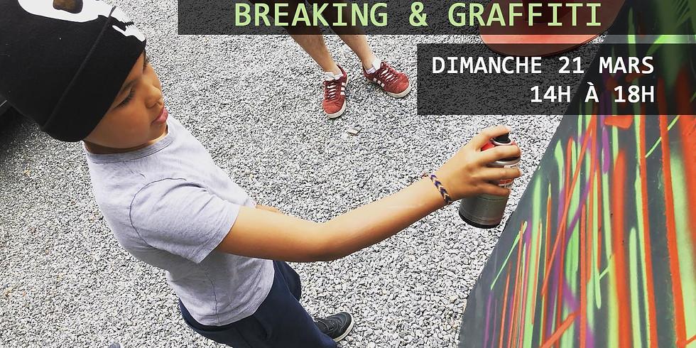 Stage Breaking + Battle 1vs1 & Graffiti - Membres Funky Feet Academy
