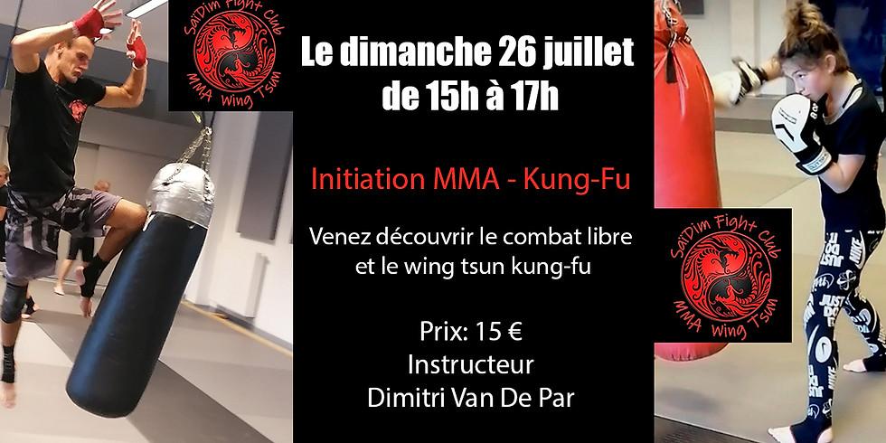 Workshop avec Dim / Saïdim Fight Club & MMA Wing Tsun