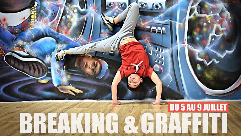Stage d'été | Breakdance & Graffiti | Du 5 au 9 juillet