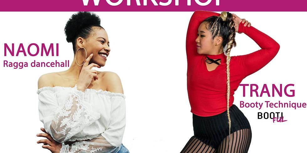 Ragga Dance Hall & Booty Technique | Workshop #1