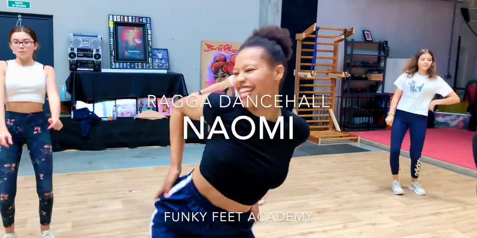 Stage Ragga Dance Hall & Girly | Membres Funky Feet Academy