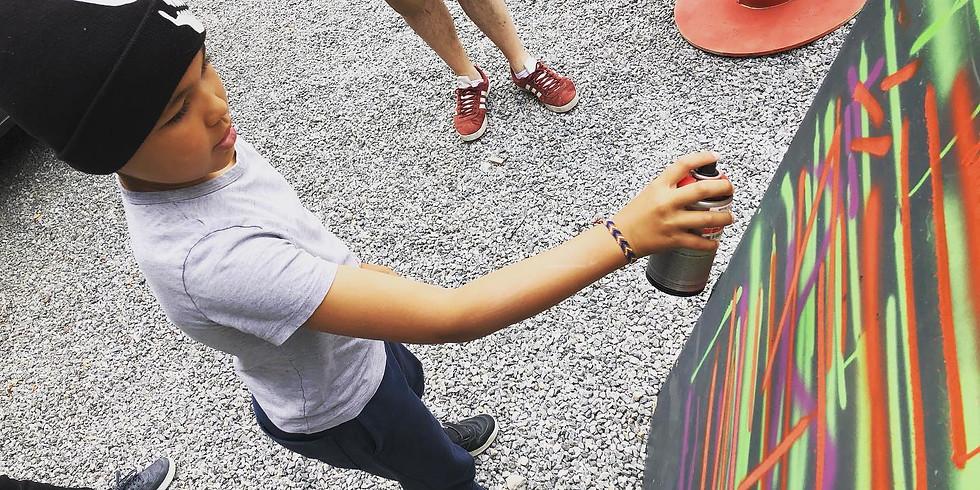 Stage dété   Graffiti du 16 au 20 août