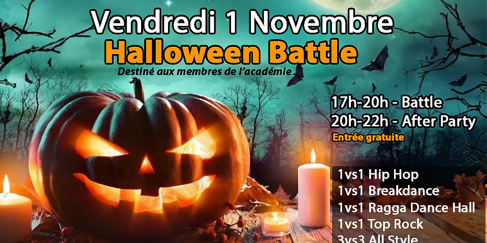 Funky Feet Academy - Halloween Battle & After Party