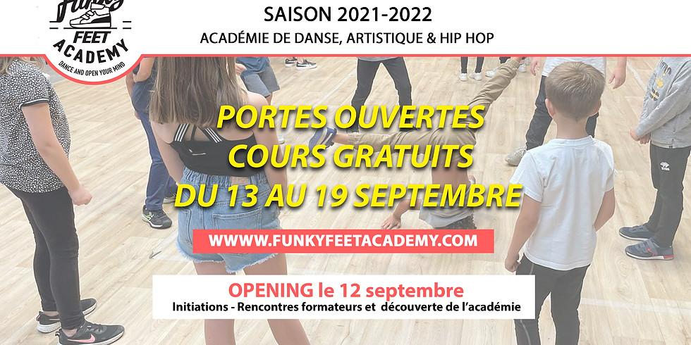 OPENING Dimanche 12 septembre Saison 2021-2022   Funky Feet Academy