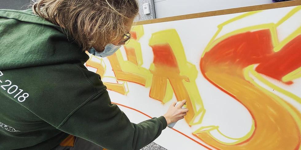 Stage Graffiti | Funky Feet Academy