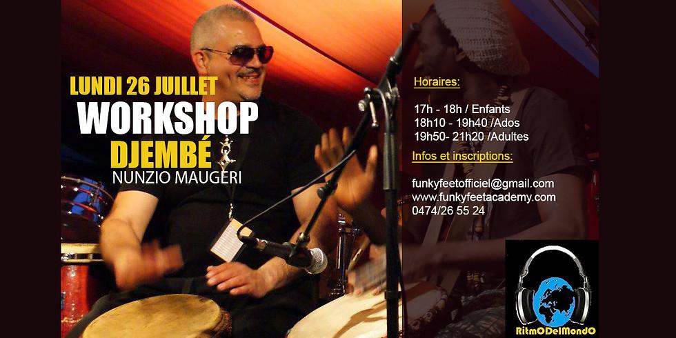 Workshop DJembé / Nunzio Maugeri