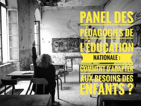 Panel des pédagogies de l'Education Nationale : comment s'adapter aux besoins des enfants ?