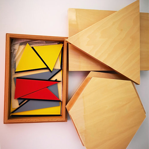 Triangles constructeurs (5 boîtes)