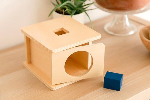 Boîte à forme (Parallélépipède rectangle à base carrée)