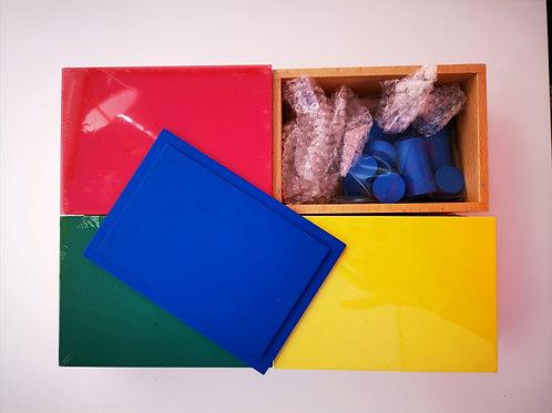 Cylindres de couleurs