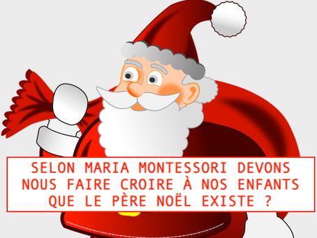 Maria Montessori et le Père Noël