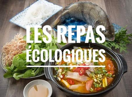 Les repas écologiques