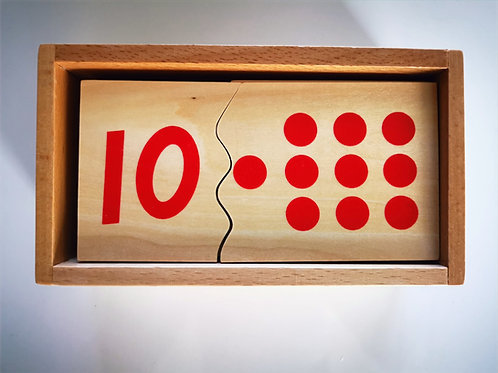 Puzzle de 1 à 10