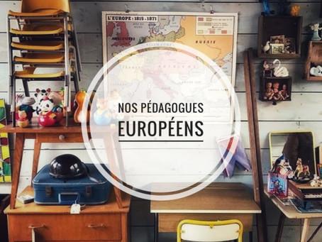 PETIT TOUR D'EUROPE CHEZ LES PÉDAGOGUES DE L'ÉCOLE NOUVELLE