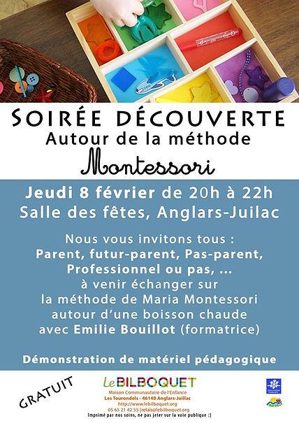 Soirée découverte Montessori