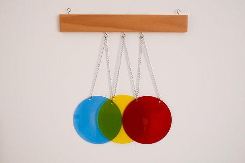 Disques des couleurs primaires