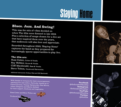 Staying Home Album Wallet 1
