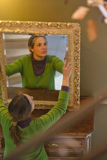 Miroir et moulure / Restauration