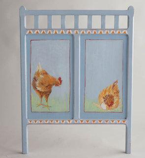 Illustration sur bout de lit enfant