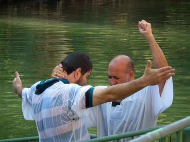 Yardenit - Local batismal no Rio Jordão - Israel