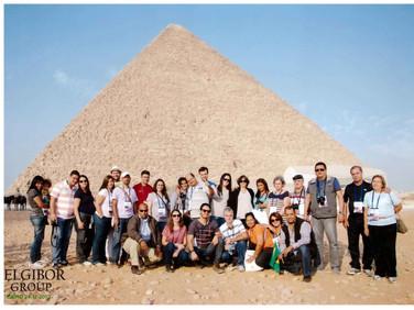 Caravana da Comunidade Evangélica Famílias em Cristo nas Pirâmides - Cairo - Egito
