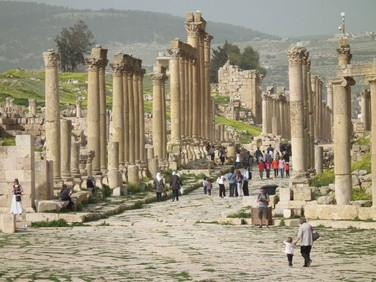 Ruínas da Cidade de Jerash - Jordânia
