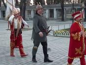 Desfile da guarda em trajes antigos - Istambul - Turquia