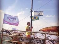 Caravana Israel Diante do Trono 2014 - Pr. André Valadão pregando no Mar da Galiléia