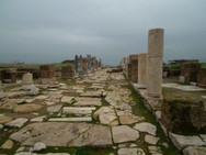 Grupo Êxodo 2013 nas ruinas da cidade de Laodicéia - Turquia - Roteiro das 7 Igrejas da Ásia