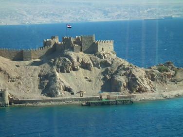 Fortaleza de Saladino - Peninsula do Sinai - Egito