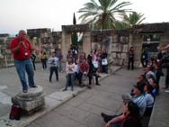 Caravana Ministério O Libertador de Israel 2012 em Cafarnaum - Israel