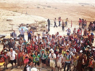 Caravana Israel Diante do Trono 2014 na Fortaleza de Massada
