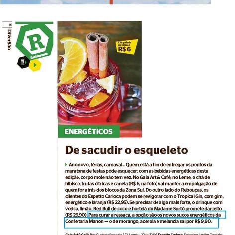 Manon Jornal Extra 1 de fevereiro de 201