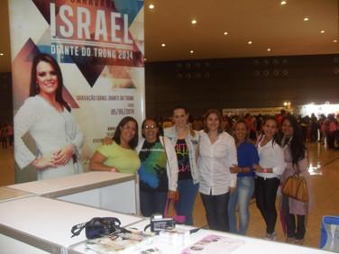 Rosana Sancricca , diretora da El Gibor, no 3o Congresso de Mulheres Diante do Trono